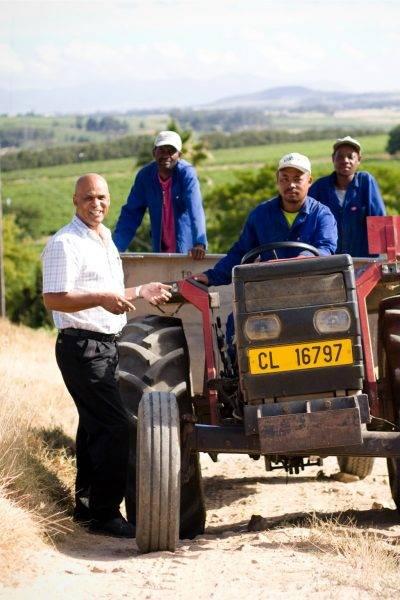 Windmeul Kelder farmer team