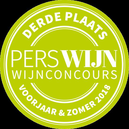 Marras Grenache heeft Derde plaats in Perswijn Zomerconcours 2018
