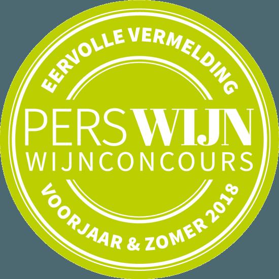 Marras Chenin Blanc heeft Eervolle vermelding Perswijn Zomerconcours 2018