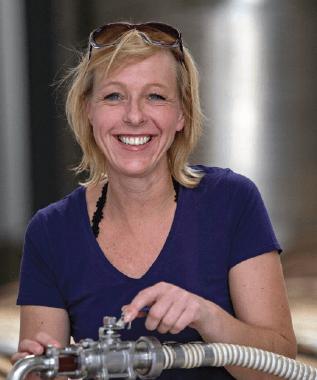 Serendipity wijnmaakster Monique Breuer