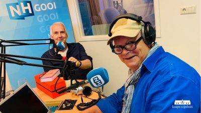 Kaaps Wijnhuis in de pers - radio interview NHGooi in Business