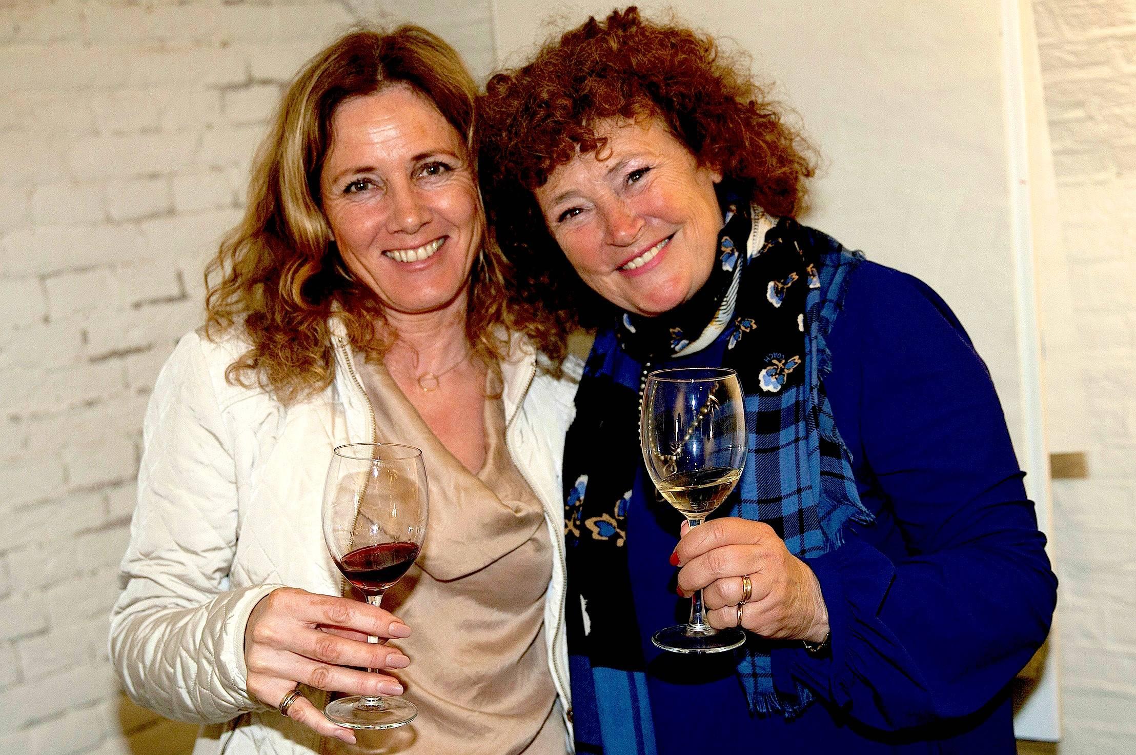 Anita van Kaaps Wijnhuis en Yvon van De Steenen Camer