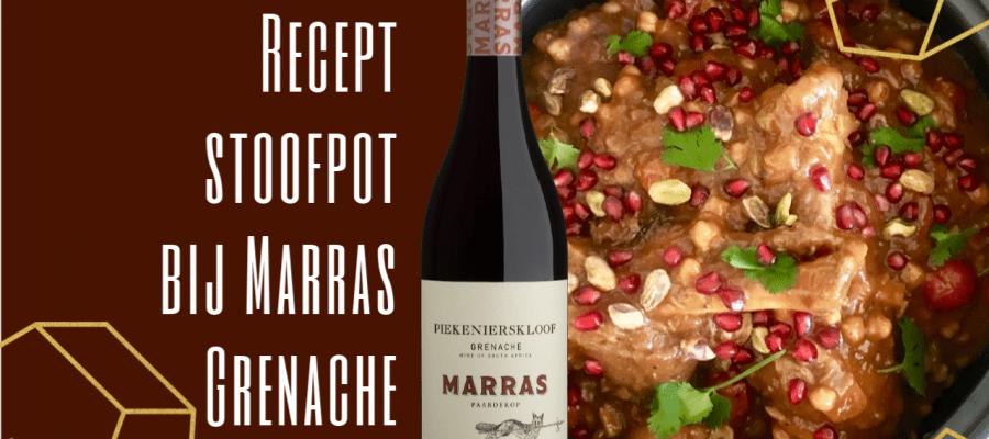 Wijn-spijs: recept stoofpot bij Marras Grenache
