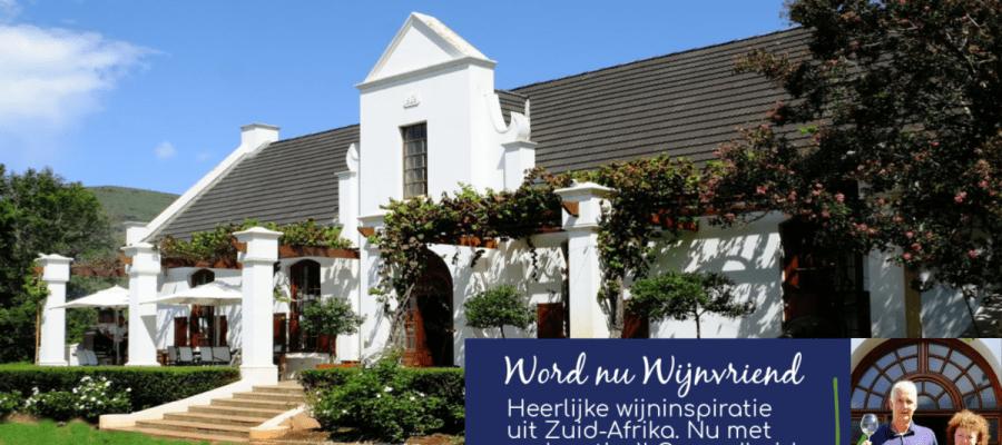 Word nu Wijnvriend van Kaaps Wijnhuis en meld je hier aan
