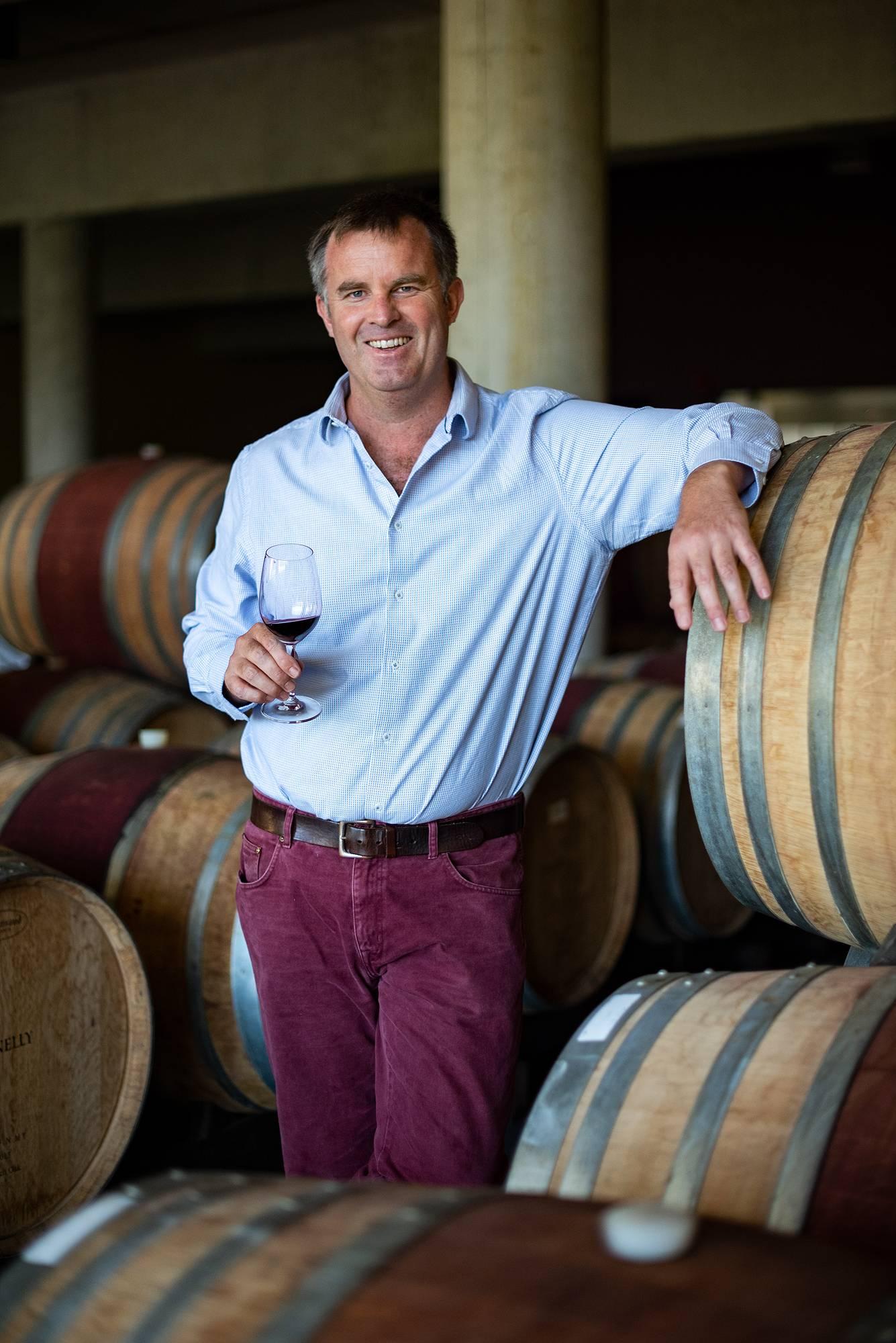 Glenelly- Stellenbosch- Wijnmaker Luke O'Cuinneagain uit Zuid-Afrika - Wijnmaker Luke