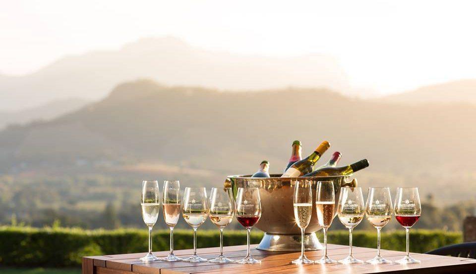 Haute Cabriere, bekend om haar Haute Cabrière Chardonnay Pinot Noir