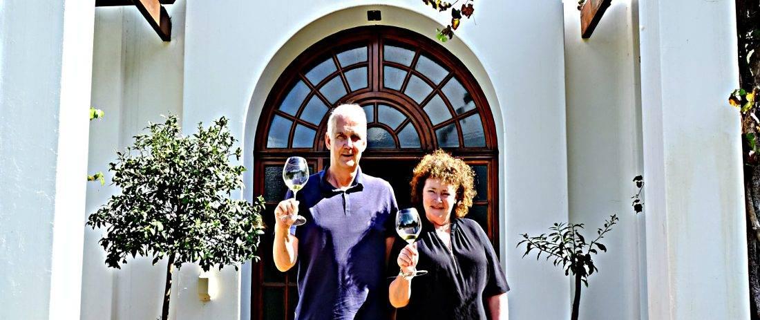 Kaaps Wijnhuis- Anita en Albert