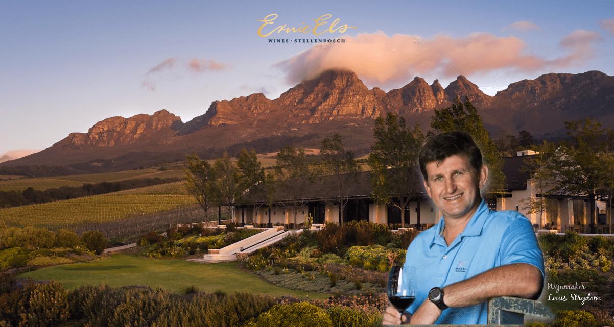 Ernie Els wijngoed en wijnmaker Louis Strydom