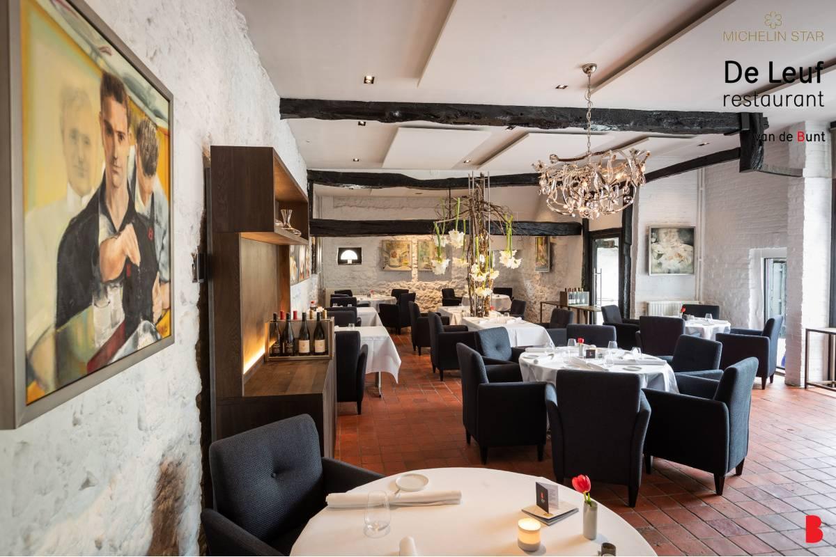 De Leuf restaurant - binnen